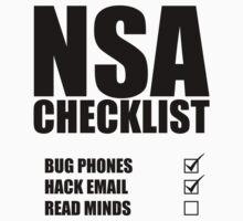 NSA Checklist by Proxish