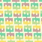 Pastel Pattern by David Orr