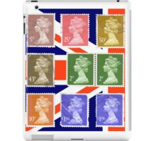 British Royal Mail postage stamps  iPad Case/Skin