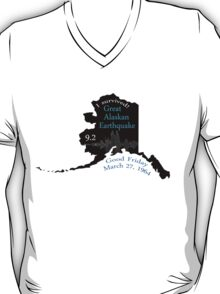 """I SURVIVED"" GREAT ALASKAN EARTHQUAKE T-Shirt"