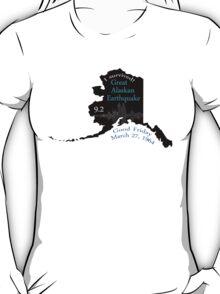 """I SURVIVED"" GREAT ALASKAN EARTHQUAKE T-Shirt"