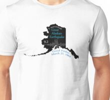 """I SURVIVED"" GREAT ALASKAN EARTHQUAKE Unisex T-Shirt"