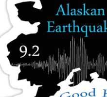 """I SURVIVED"" GREAT ALASKAN EARTHQUAKE Sticker"