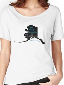 GOOD FRIDAY EARTHQUAKE Women's Relaxed Fit T-Shirt