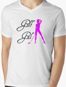 Golf Gal Girl Golf Gift Mens V-Neck T-Shirt