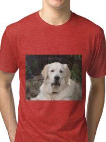 Pet sayings! Tri-blend T-Shirt