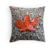 Boston Leaf Throw Pillow