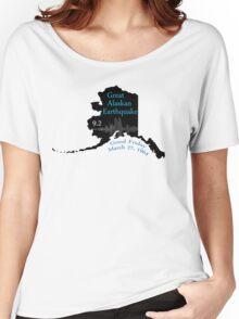 GREAT ALASKAN EARTHQUAKE Women's Relaxed Fit T-Shirt