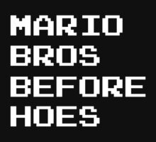 Mario Bros Before Hoes by 8Bite
