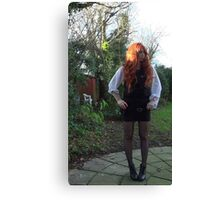 Amy Pond (The Eleventh Hour)  Canvas Print