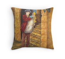 Sicilian Ciaramella Throw Pillow