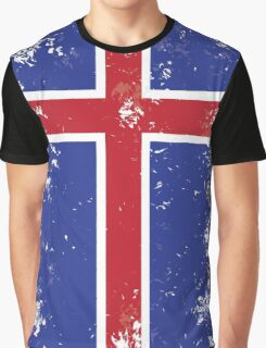 Flag of Iceland Graphic T-Shirt