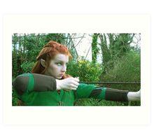 Tauriel - (The Hobbit Cosplay) Art Print