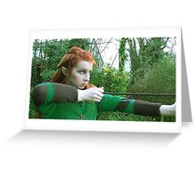Tauriel - (The Hobbit Cosplay) Greeting Card