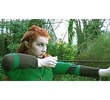 Tauriel - (The Hobbit Cosplay) Photographic Print