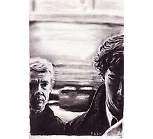 Sherlock: I don't have friends, I've just got one Photographic Print