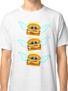 Three Flying Cheeseburgers Classic T-Shirt
