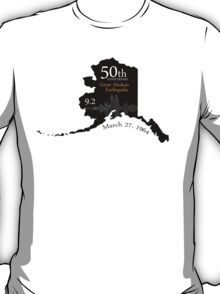 50TH ANNIVERSARY GREAT ALASKAN EARTHQUAKE T-Shirt