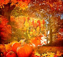 Autumn Collage by Leah Gunther