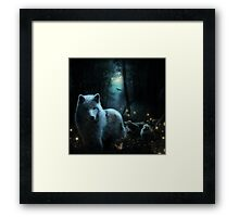 Guardian of the Night Framed Print