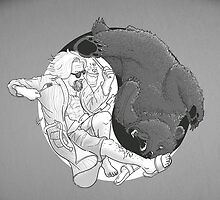 Sometimes you eat the bear... by moritzstork