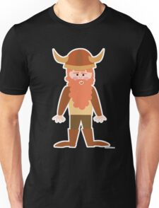 Cartoon Viking Unisex T-Shirt