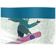 Snowboarding Poster