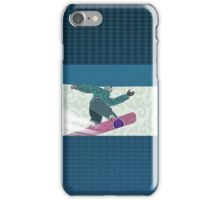 Snowboarding iPhone Case/Skin