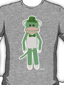 Saint Patrick's Day Sock Monkey T-Shirt