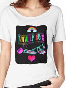 Totally 80's Fun Neon Women's Relaxed Fit T-Shirt