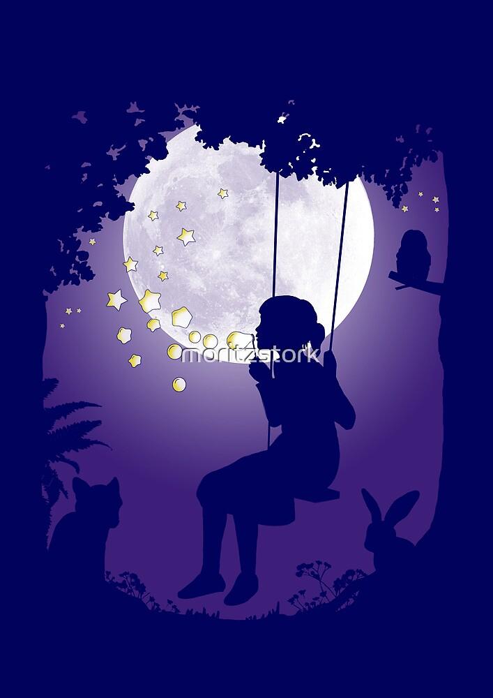 Moon Swing by moritzstork