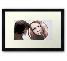 Amy Pond (The Girl Who Waited Cosplay)  Framed Print