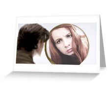 Amy Pond (The Girl Who Waited Cosplay)  Greeting Card