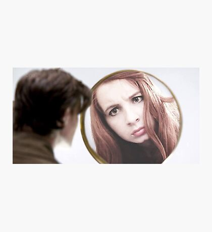 Amy Pond (The Girl Who Waited Cosplay)  Photographic Print