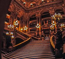 Paris Opera House by Graeme Bayley