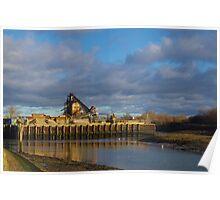 Shingle Depot, Langstone Harbour Poster