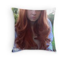 Amy Pond (The Beast Below Cosplay) Throw Pillow