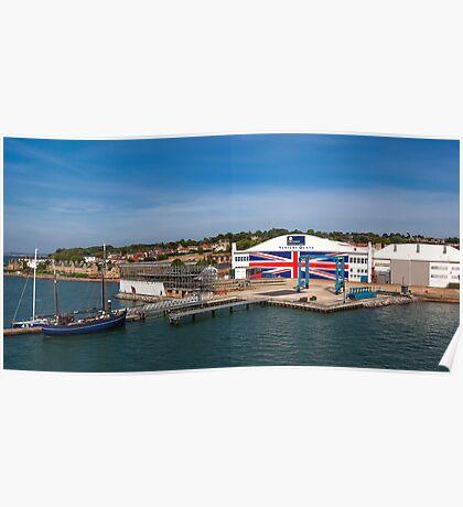 Venture Quays IOW Poster