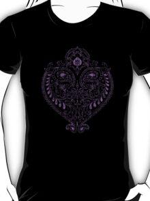 Purple Indian Heart T-Shirt