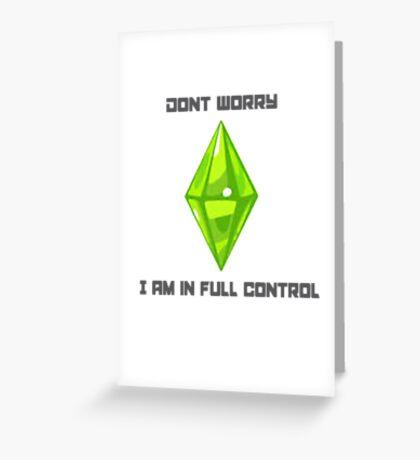 Sims 3 Greeting Card