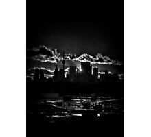 Toronto Canada Skyline At Sunset From The Pape St Bridge Photographic Print