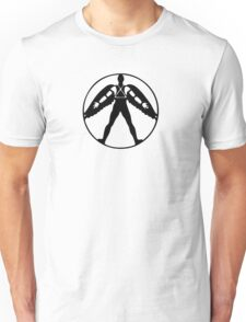 Icarus (black on light) Unisex T-Shirt