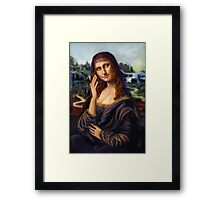 Leo Stop: I am Not the Prettiest Girl Ever! Framed Print
