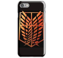Survey Corps - Attack On Titan iPhone Case/Skin