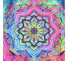 Mandala HD 5 Photographic Print