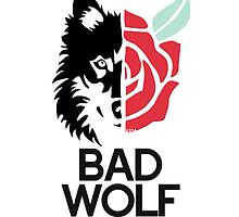 BAD WOLF t-shirt by firexjay