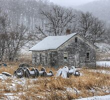 Blustery Winter by wiscbackroadz