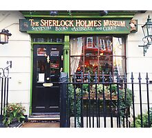 sherlock holmes museum Photographic Print