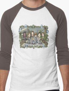 The Walking Dead by Kenny Durkin Men's Baseball ¾ T-Shirt