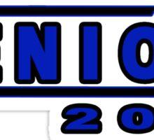 Senior 2014 Dark Blue Sticker